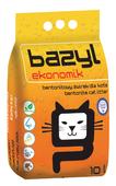 BAZYL EKONOMIK 10L żwirek dla kota