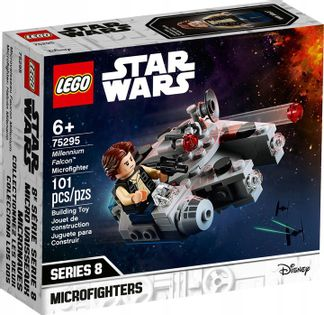 LEGO STAR WARS Myśliwiec Sokół Millennium 75295