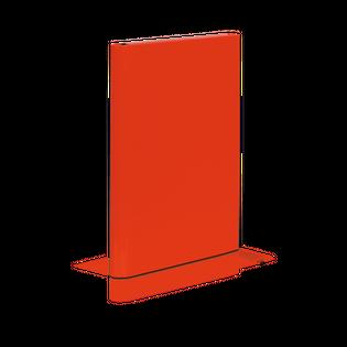 TECZKA A4 SKRZYDŁOWA Z RZEPEM CZERW. CARIBIC VAUPE 340/21