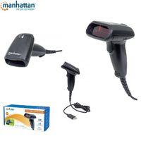 Skaner kodów kreskowych Manhattan E-LG-USB300 USB, laserowy