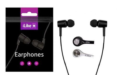 ILike Słuchawki Universal Earphones IEA01BK Black
