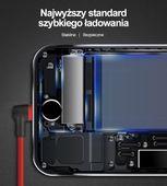 UNITEK ORYGINALNY KĄTOWY KABEL LIGHTNING iPhone 5s SE 6S 7 8 X IPAD zdjęcie 7