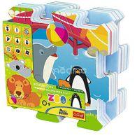 Puzzle piankowe Zwierzęta Zoo Trefl 60695