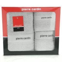 Komplet ręczników 3 szt. NEL Pierre Cardin srebrny