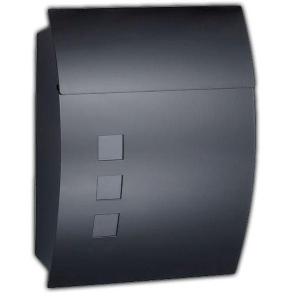 zamykana skrzynka pocztowa na listy gazety ze stali szlachetnej mb06 skrzynki na listy arena. Black Bedroom Furniture Sets. Home Design Ideas