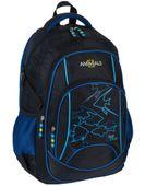 Animals Plecak szkolny młodzieżowy Fast&Blue + piórnik zdjęcie 2