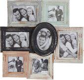 Piękna ramka na zdjęcia, stylizowana na starą