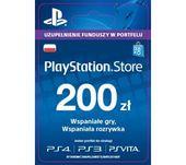 Sony PlayStation Network 200zł