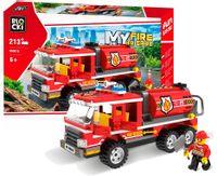 Klocki STRAŻ POŻARNA Beczkowóz 213 el do Lego