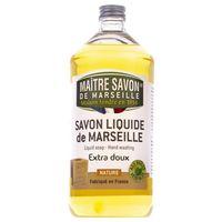 Mydło marsylskie w płynie naturalne 1000 ml - Maître Savon