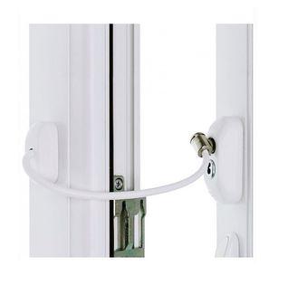 Blokada okienna Zabezpieczenie okna dzieci Uchylenie na kluczyk Linka
