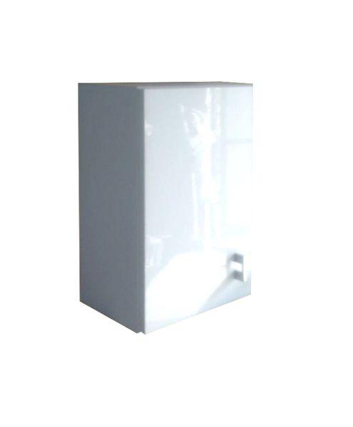 Wisząca szafka łazienkowa 40 cm biała biały połysk na Arena.pl