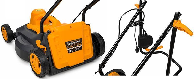 Kosiarka elektryczna 2600W 40CM Powermat PM-KSE-2600S zdjęcie 4