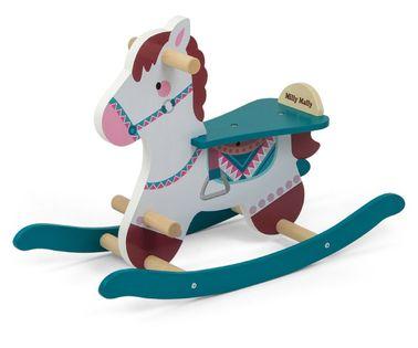 Koń na biegunach Milly Mally Lucky 18 Blue 3331
