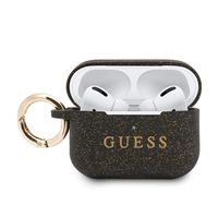 Guess Silicone Case - Etui AirPods Pro (Black)
