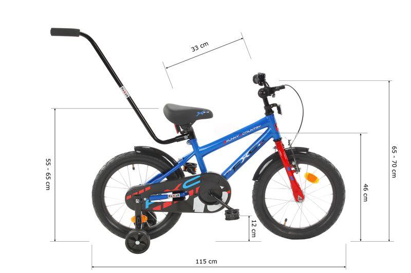 16 cali Rower dla dzieci  FXC Boy Rowerek + GRATIS Prowadnik zdjęcie 11