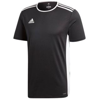 Koszulka dla dzieci adidas Entrada 18 Jersey JUNIOR czarna CF1035/CF1041