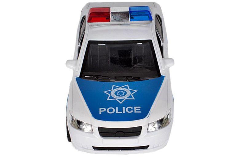 Samochód policyjny Radiowóz interaktywny dźwięki i światła Y260 zdjęcie 4