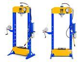 Prasa hydrauliczno-pneumatyczna - 30 t - 666 bar MSW MSW-WP-30T-P
