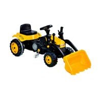 WOOPIE Ogromny Traktor Na Pedały Spychacz Żółty