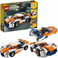 LEGO Creator Słoneczna wyścigówka 3w1 31089