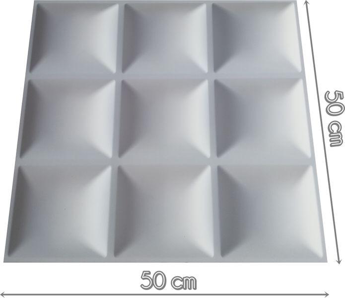 Panele ścienne Pcv 50x50 Twarde Piko Arenapl