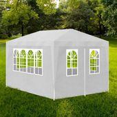 Namiot imprezowy 3x4, 4 ścianki, biały