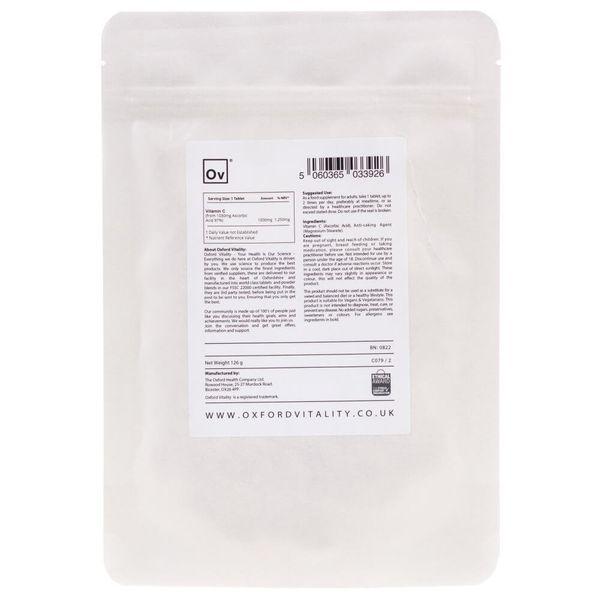 Oxford Vitality Witamina C 1000 mg - 120 tabletek zdjęcie 2