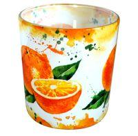 Świeca zapachowa w szkle VERONA Pomarańcza