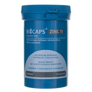 Formeds Bicaps Zinc 15 (Cynk) - 60 kapsułek