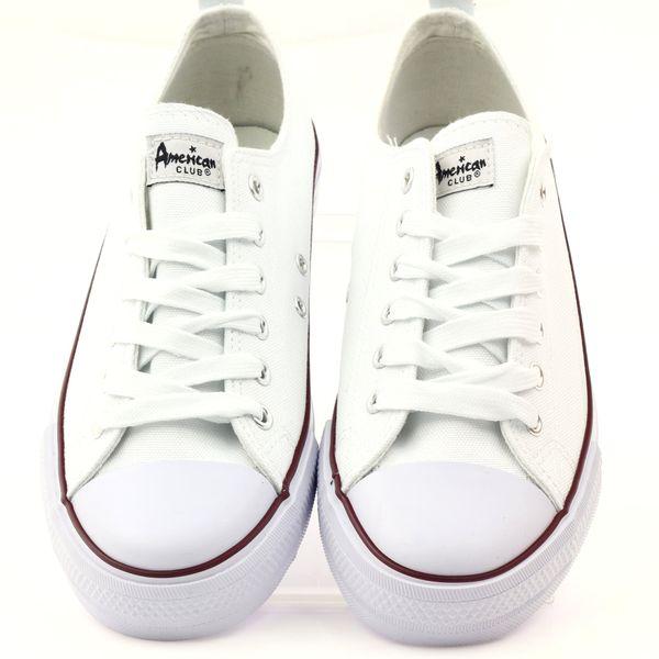 509ed9477346d ... Trampki buty męskie białe wiązane American r.42 zdjęcie 5