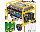 Agregat prądotwórczy generator 6,5kw 12v 230v avr