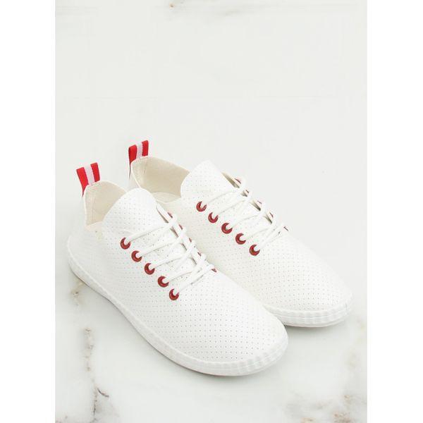Trampki damskie biało czerwone BO 1 Red r.39