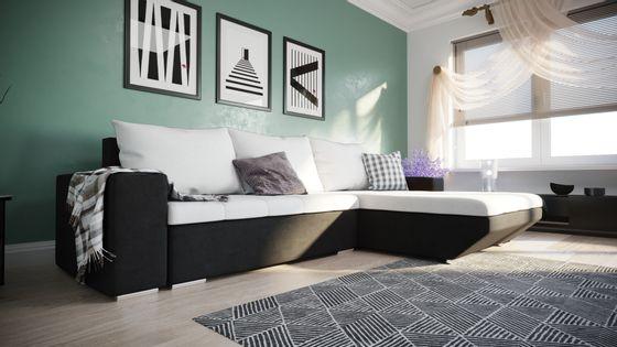 Narożnik rogówka BRUNO salon kanapa sofa Bonel L23-G1B