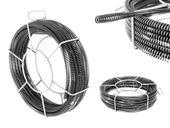 Spirala do rur - zestaw 5 x 2,3 m / Ø 16 mm + 1 x 2,4 m / Ø 15 mm MSW