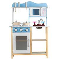 Kuchnia Dla Dzieci Drewniana Kuchenka + Akcesoria