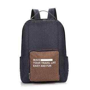 Plecak składany - podróżny, miejski, praktyczny!