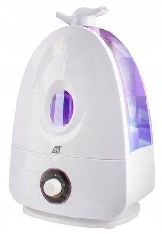 Ultradźwiękowy nawilżacz powietrza  Jonizator 4L z podświetleniem Z248 zdjęcie 1