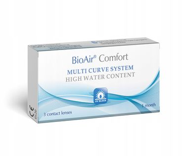 Uniwersalne soczewki BioAir Comfort 3szt.