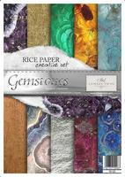 ZRS20 Papier ryżowy zestaw kreatywny