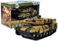 Czołg Na Baterie Efekty Dźwiękowe Świetlne Żółty 27Cm