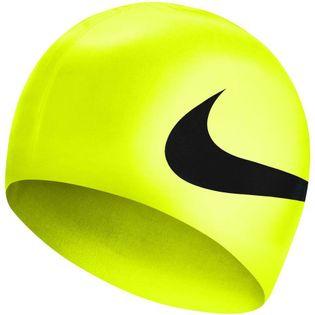 Czepek pływacki Nike Os Big Swoosh żółty NESS8163-737