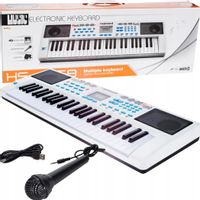 ORGANY Elektroniczne MIKROFON Keyboard PIANINKO