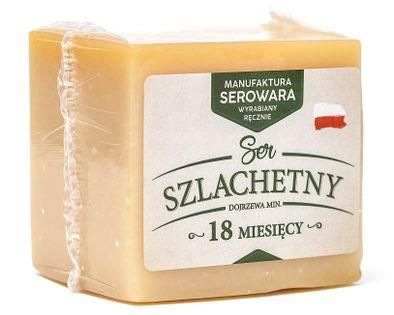 Ser SZLACHETNY (typu Parmezan) 0,5kg!!! DŁUGODOJRZEWAJĄCY >18mies.