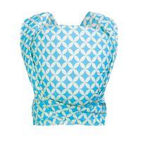 Chusta Zaffiro Be Close tkana splotem skośno-krzyżowym - mosaic blue