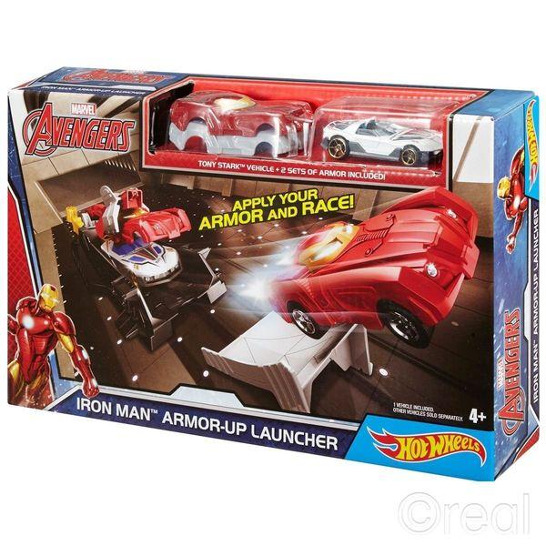 Hot Wheels Avengers Tor Wyrzutnia Iron Man zdjęcie 1