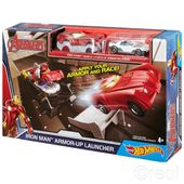 Hot Wheels Avengers Tor Wyrzutnia Iron Man
