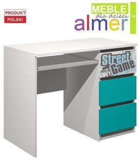 biurko STREET GAME C5 100x50 w.75