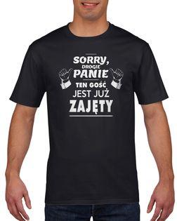 Koszulka męska TEN GOSC JEST ZAJETY c L