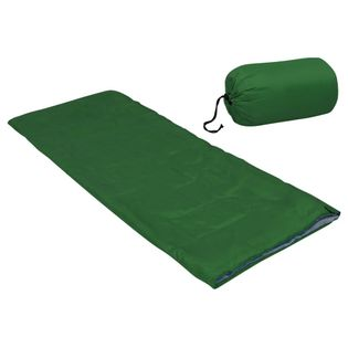 Lumarko Lekki śpiwór dziecięcy, prostokątny, zielony, 670 g, 15°C!